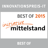 best of 2015 Innovationspreis IT